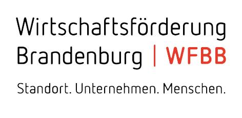 Logo der Wirtschaftsförderung Land Brandenburg GmbH (WFBB)