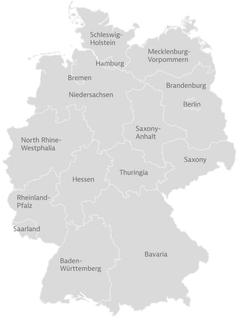 Bundesländer Deutschlands