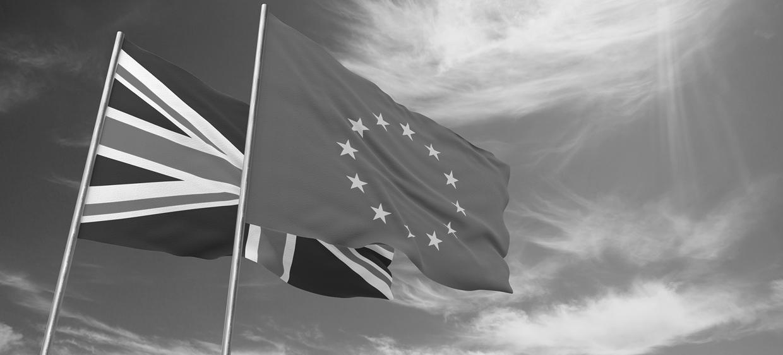 Flags UK and EU
