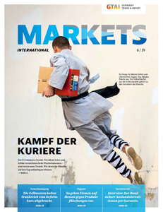 Titelseite Markets International 5/19