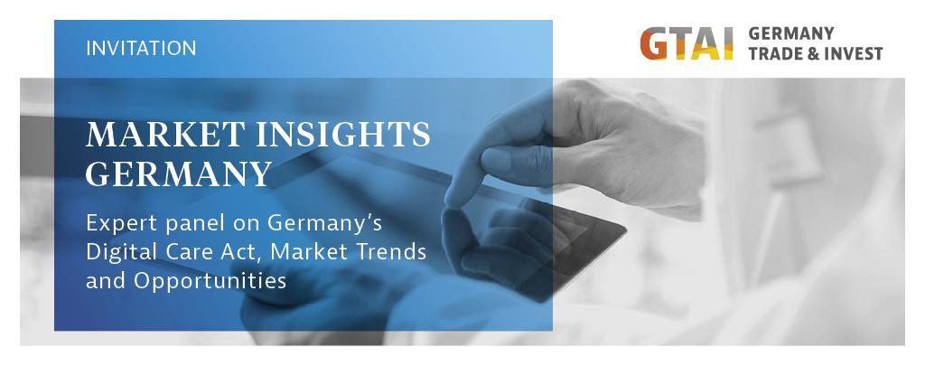 Markets Insights Germany | GTAI @ HIMSS USA
