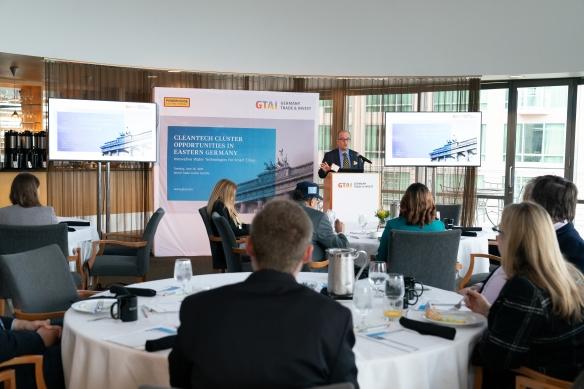 Cleantech Cluster Opportunities in Eastern Germany, Breakfast Briefing Seattle