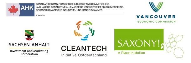 GTAI and its partners: Canadian German Chamber of Industry and Commerce + Vancouver Economic Commission + Saxony-Anhalt Investment and Marketing Corporation + Saxony Economic Development Corporation + Cleantech Initiative Ostdeutschland   © Canadian German Chamber of Industry and Commerce + Vancouver Economic Commission + Saxony-Anhalt Investment and Marketing Corporation + Saxony Economic Development Corporation + Cleantech Initiative Ostdeutschland