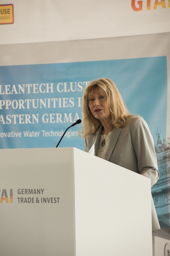 Cleantech Cluster Opportunities in Eastern Germany, Breakfast Seminar Vancouver