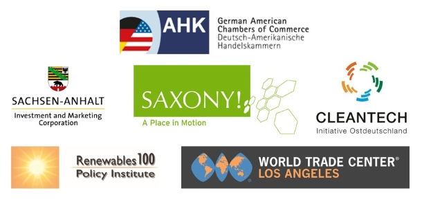 GTAI and its partners: AHK USA + Saxony-Anhalt Investment and Marketing Corporation + Saxony Economic Development Corporation + Cleantech Initiative Ostdeutschland + Renewables100 Policy Institute + World Trade Center Los Angeles   © AHK USA + Saxony-Anhalt Investment and Marketing Corporation + Saxony Economic Development Corporation + Cleantech Initiative Ostdeutschland + Renewables100 Policy Institute + World Trade Center Los Angeles