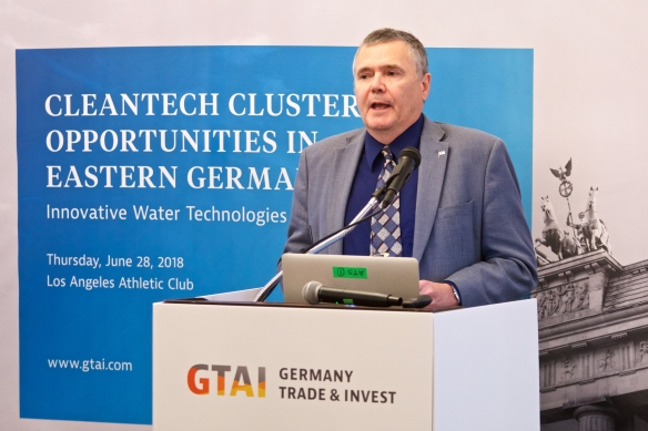 Cleantech Cluster Opportunities in Eastern Germany, Lunch Briefing Los Angeles