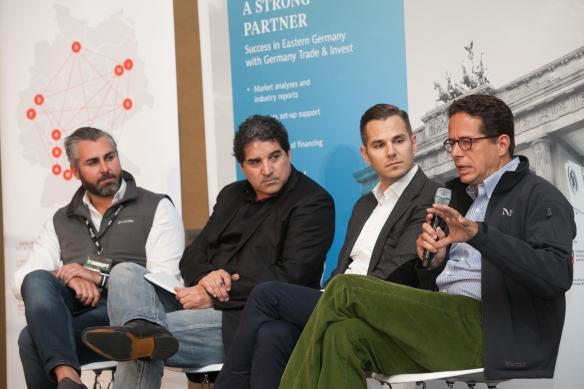 German Start-Up Pavilion at TechCrunch Disrupt San Francisco, German Innovation - A Luncheon Reception