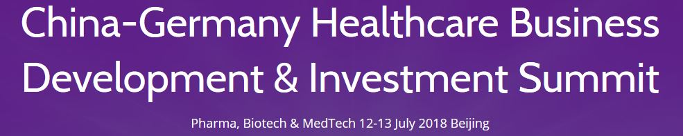 China-Germany Healthcare Business Development & Investment Summit