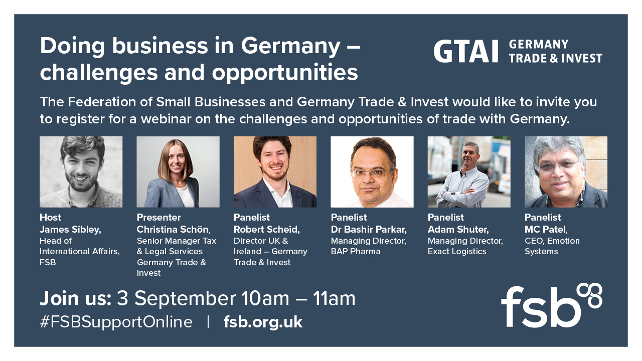 Social Business Card: Doing business in Germany- challenges and opportunities