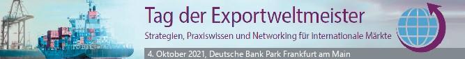 Logo Tag der Exportweltmeister 2021