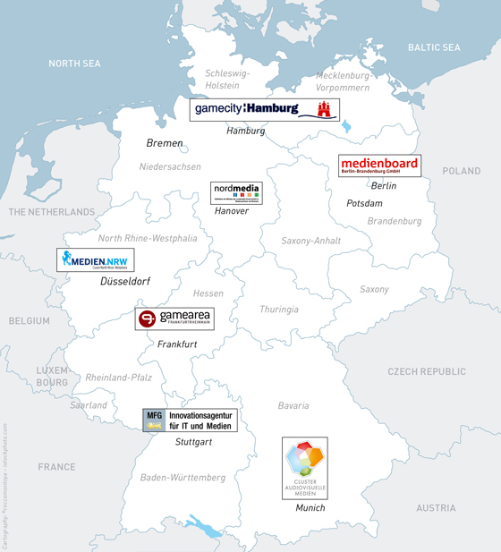 The German Gaming Landscape 2012