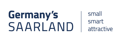 Logo Germany's Saarland - small - smart - attractive