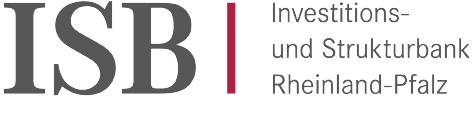 Logo ISB - Investitions- und Strukturbank Rheinland Pfalz