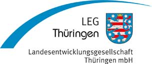 Logo LEG Thüringen - Landesentwicklungsgesellschaft Thüringen mbH