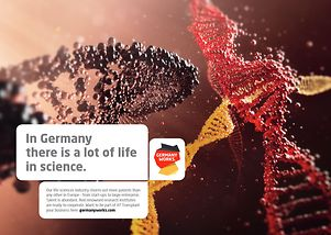 In Germany there is a lot of life in science.