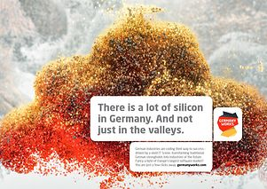 There is a lot of silicon in Germany. And not just in the valleys.