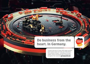 Do business from the heart. In Germany.