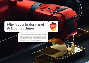 Why invest in Germany? Ask our machines.