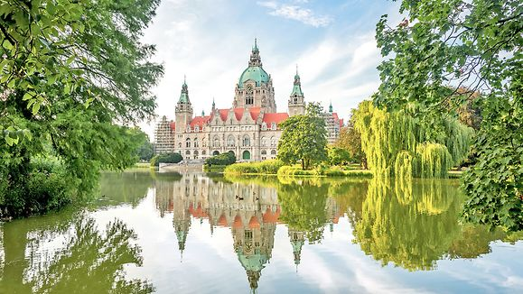 Federal State Lower Saxony, Germany - Hannover, New City Hall