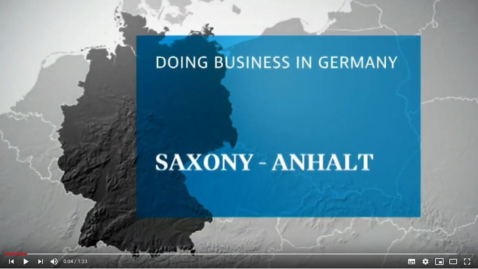 markets on air: Doing Business in Saxony Anhalt