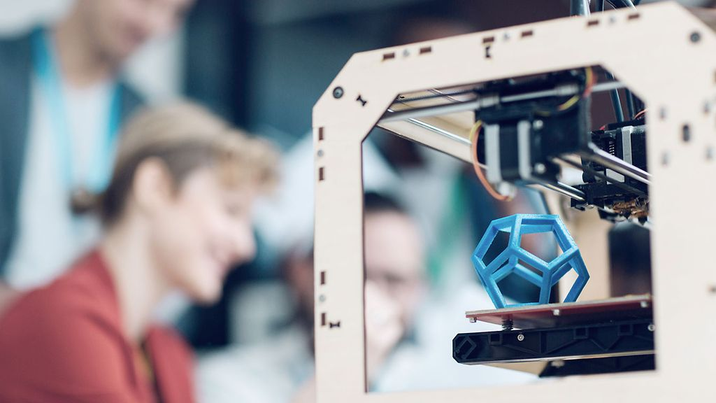 Diversity Startup Business Team, in cooperaton with a three-dimensional printer.