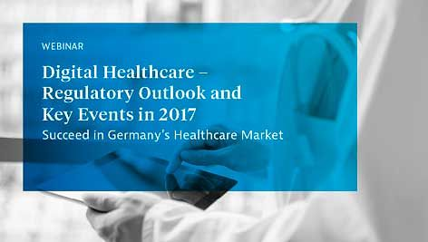 Logo WEBINAR 2017 | Digital Healthcare - Regulatory Outlook and Key Events in 2017