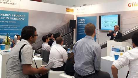 Audiences at Intersolar 2016 | GTAI