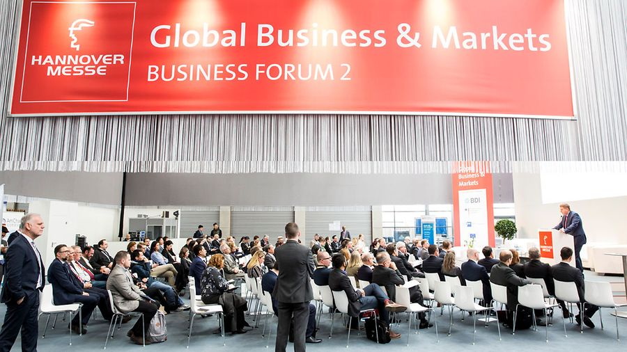 GTAI Trade Forum @ Hannover Messe