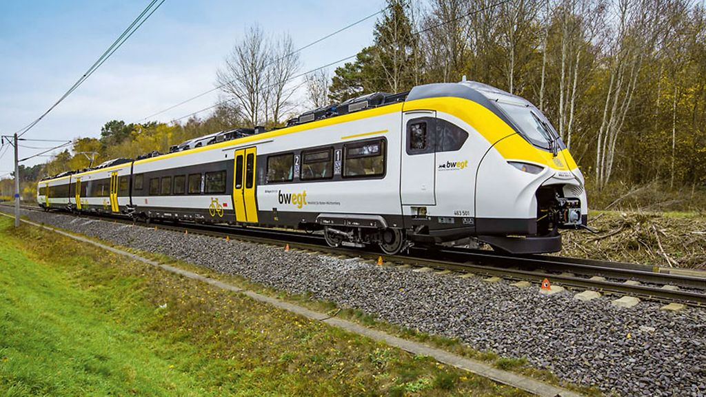 The Mireo train of Siemens