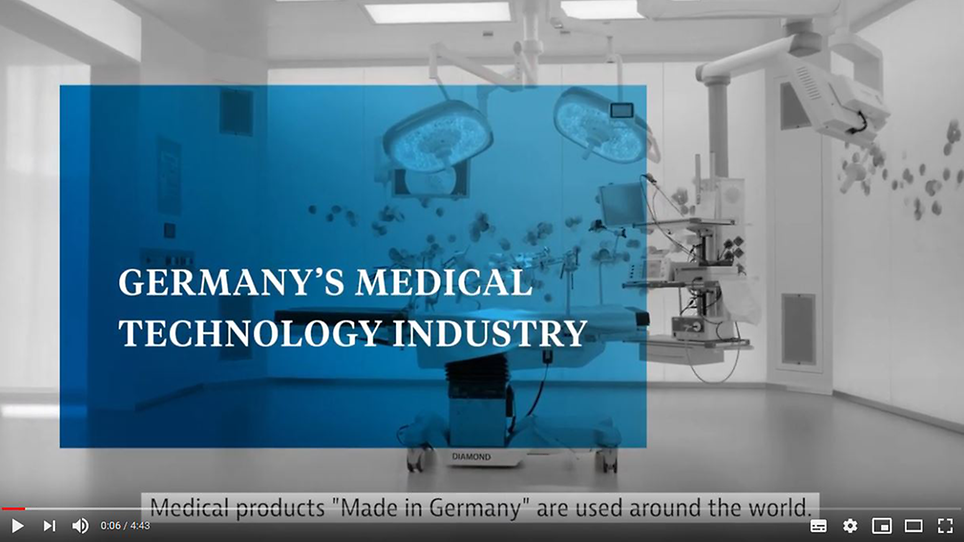 Video: Germany's Medical Technology Industry