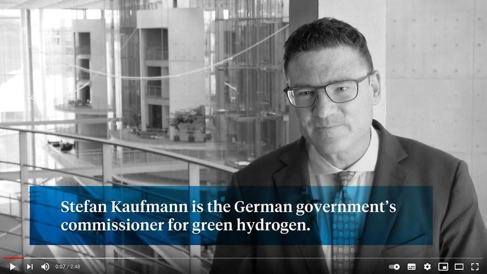 Interview: Stefan Kaufmann, German government's commissioner for green hydrogen