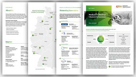 Fact Sheet: Medical Technology Cluster in Germany