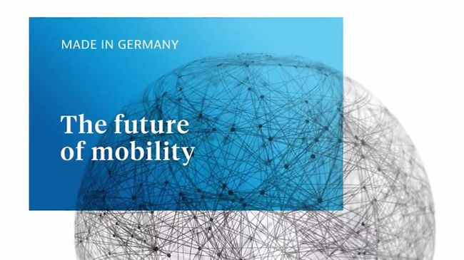 "GTAI: The Future of Mobility ""Made in Germany"""