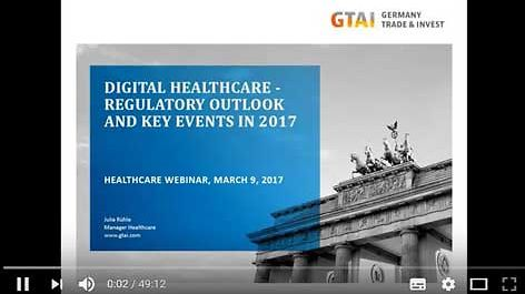 WEBINAR 2017 - Stream | Digital Healthcare - Regulatory Outlook and Key Events in 2017
