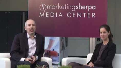 Nadine Späth, Manager of Consumer Markets and Ecommerce, Germany Trade and Invest, sat down with Daniel Burstein, Director of Editorial Content, Marketing Sherpa, in the Media Center at IRCE 2015 to discuss how marketers can expand into foreign markets by learning the difference between American and foreign ecommerce markets.