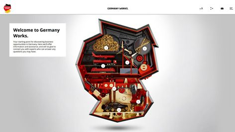 Homepage Germany Works