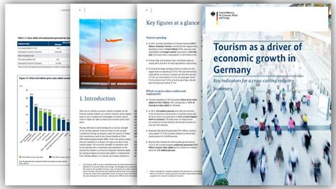 Cover Study Federal Ministry for Economic Affairs and Energy: Tourism as a driver of economic growt in Germany