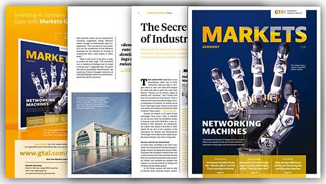"markets Germany - Issue 1/2018 ""NETWORKING MACHINES"""