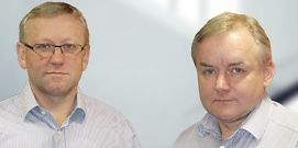 Jeremy and Stuart Briston, Managing Directors, Redpack Maschinen GmbH